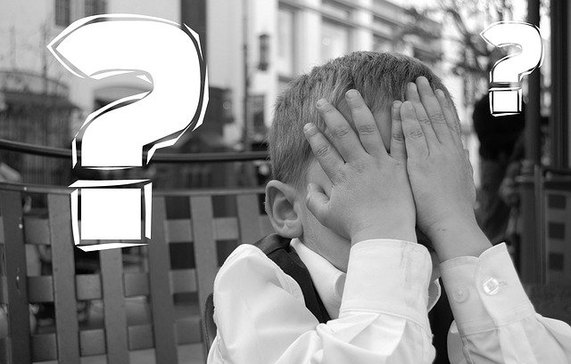 Child is covering his eyes with his hands, WordPress fix error